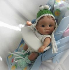 Polymer Clay Ooak Dolls, Reborn Dolls, Reborn Babies, Art Dolls, Dollhouse Dolls, Miniature Dolls, Clay Baby, Polymer Clay Dolls, Pretty Dolls