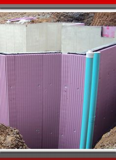 Concrete walls have low insulating value, which means cold from the ground transfers directly into the basement. But with Owens Corning's FOAMULAR® rigid extruded polystyrene (XPS) foam insulation installed directly against your foundation wall, you can e Basement Insulation, Home Insulation, Green Building, Building Ideas, Building A House, Energy Efficient Homes, Energy Efficiency, Stairs Covering, Load Bearing Wall