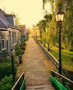 Zaanse Schans. Netherlands