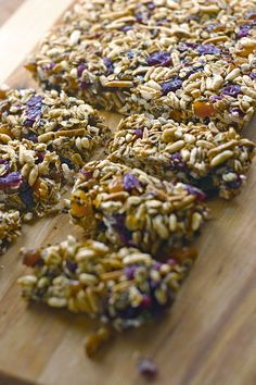 honey energy bars (g-f) from Delight Gluten Free magazine