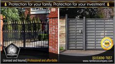 Protection for your family protection for your investment - Ram Fence Co...