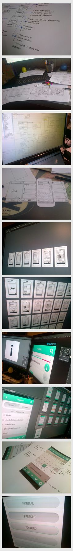 fcal - mobile app design process #UX
