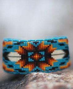 Oglala Lakota - Beaded Bracelet