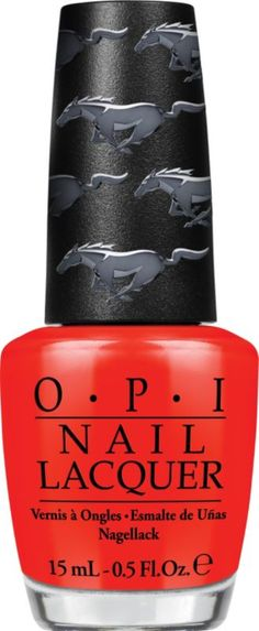 Two iconic American brands - OPI and Ford - join forces to empower women with legendary style with this Mustang Nail Lacquer  Collection by OPI..   Ahhhhh so excited!!! :) I love my stang!