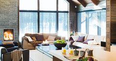 Luxury 24h service villas at Levi, Lapland.