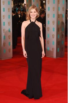Rosamund Pike in Roland Mouret at the BAFTA Awards 2015
