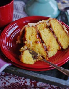 Southern Salted Caramel Cake - a southern discourse