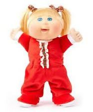 Cabbage Patch Kids Lil' Dancer Holiday Pajama Dance Party Jingle Bells Red NEW