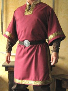 Medieval Celtic Viking MidArms Sleeves Shirt by MorganasCollection, $79.99