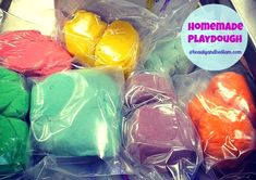 It's the perfect time of year to dive into some Boredom Busters with this Easy Homemade Playdough.