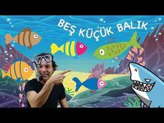 Beş küçük Balık Çocuk Şarkısı - Onur Erol - YouTube