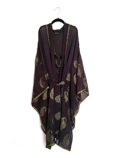 A personal favourite from my Etsy shop https://www.etsy.com/listing/227256524/pure-silk-long-kimono-jacket-beach-cover