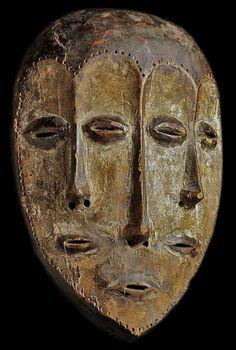 Maschera rituale dello Zaire