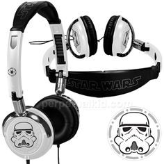 Stormtrooper Fold-up Headphones