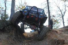Jeep Wrangler Flexing