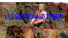 7 reasons why everyone needs a life size cutout of Donald Trump - Be Donald Trump