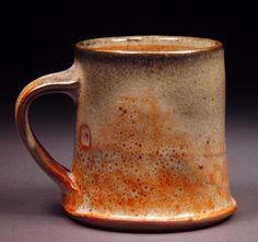 Johnson Creek Clay Studio, Rick Hintz, Shino type glaze with some carbon trapping.