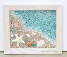 54+ Ideas Beach Art Diy Projects Sea Glass