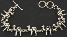 Sterling Camels Bracelet.