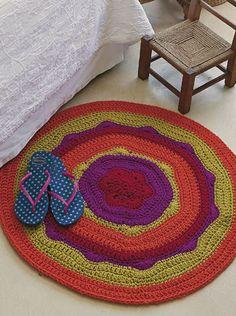 Alfombra circular - Deco Crochet
