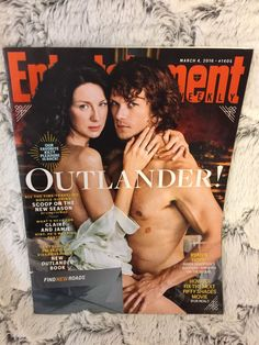 Entertainment Weekly March 4, 2016 #1405 OUTLANDER Sam Heughan & Caitriona Balfe