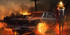 """Motoqueiro Fantasma e Quake lutam no clipe da série """"Agents of S.H.I.E.L.D"""""""