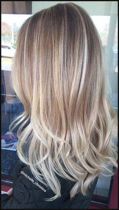Blonde Hairstyles With Highlights | Haar, Frisur und Haarfarben | Einfache Frisuren