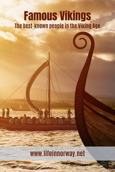The best known people in the Viking Age, famous Norwegian Vikings Rollo Of Normandy, History Of Norway, Erik The Red, Sons Of Ragnar, Norwegian Vikings, Bone Diseases, British Royal Families, Viking Age, Boats