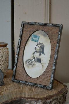 Oud fotolijstje (old picture frame) www.blossombrocante.nl