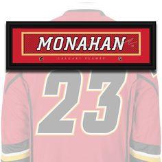Calgary Flames - Sean Monahan - NHL Jersey Name Print