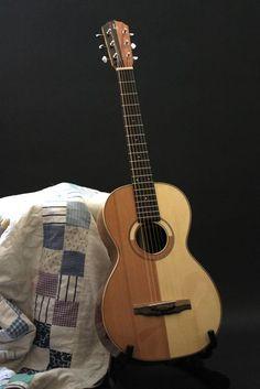 Patchwork Parlor Guitar