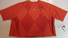 Nike Bremen Soccer SHIRT JERSEY Dri-Fit Mens Large Orange  #NikeFitDry #ShirtsTops