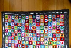 Gypsy blanket crochet pattern and a Give Away! - My Rose Valley