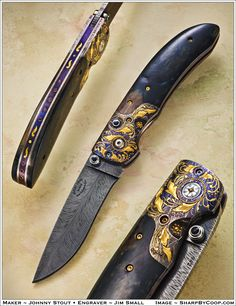 Photos SharpByCoop • Gallery of Handmade Knives - Page 24