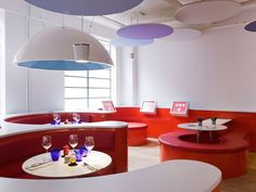 Faux-plafond acoustique / décoratif / en fibre minérale / en îlot - OPTIMA CANOPY CS5443 - Armstrong ceilings - Europe