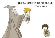 A Lord of the Rings funny.