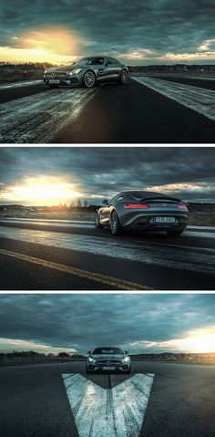 """Let the sunrise inspire you. The Mercedes-AMG GT S. Photos by Patrick Paparella (<a href=""""http://www.patrickpaparella.de"""" rel=""""nofollow"""" target=""""_blank"""">www.patrickpapare...</a>).  [Mercedes-AMG GT S 