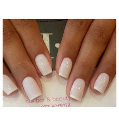 Whiter tips on white polish white nails, white french nails, french toes,. Glitter French Manicure, French Pedicure, Manicure And Pedicure, French Manicures, Pedicure Ideas, Pedicure Summer, Pedicures, Summer Nails, Color French Manicure