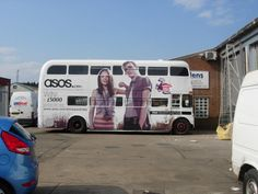 #Asos #Bus #Wrap by Mardens