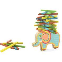 Djeco Stapelspiel Elefant - Gesellschaftsspiel