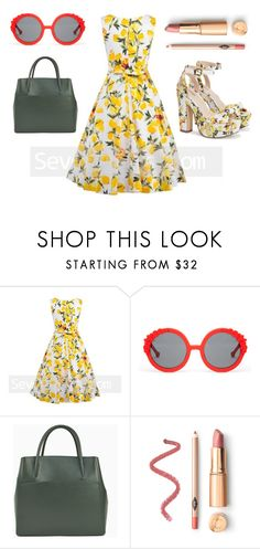 """""""BRING ON THE LEMON TREND"""" by tania-san ❤ liked on Polyvore featuring Preen"""