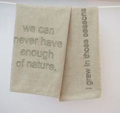 Excited about our new Walden tea towels!