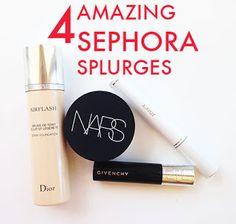 4 Amazing Sephora Splurges