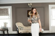Emma and Ollie's love and laughter-filled wedding at Clonabreany House Confetti, Real Weddings, Lace Skirt, Laughter, Elegant, Skirts, House, Style, Fashion