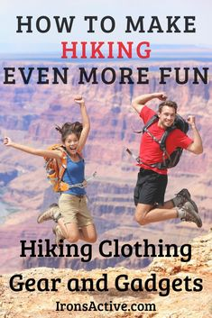 Hiking is even more fun with the right equipment. Here are 15 ideas I love for hiking clothing, gear and gadgets to make your hike even more fun. #hiking #hikinggear #hikinggadgets