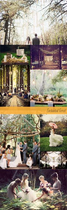 Enchanted Rustic Forest Wedding Inspiration Board ::The Little Canopy::  http://wp.me/p2OLkL-rM