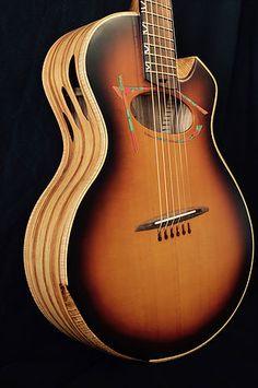 alquier luthier fabricant de guitares electriques et acoustiques   Ethiq folk guitars