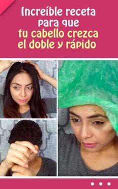 ¡Increíble receta para que tu cabello crezca el doble y rápido! (solo 2 ingredientes)