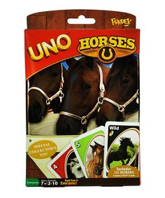 Loving this Horses UNO Card Game on #zulily! #zulilyfinds
