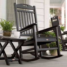 Superieur Trex Outdoor Furniture Recycled Plastic Yacht Club Rocking Chair   TXR100CW